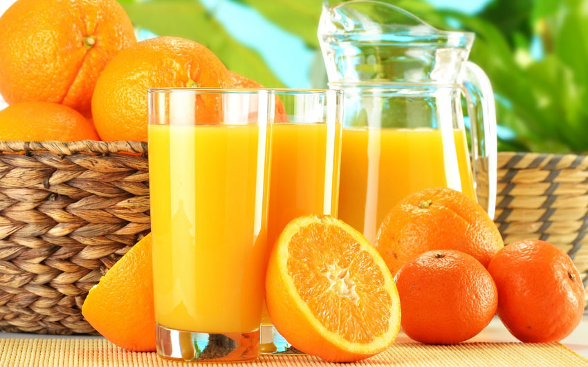 первая реклама апельсинового сока