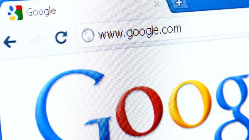 первая реклама поисковой строки гугл